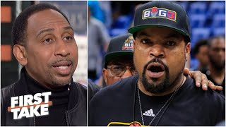 Stephen A. supports Ice Cube wanting the NBA to credit the BIG3 for All-Star changes | First Take