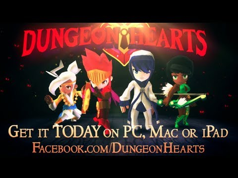 Dungeon Hearts - Launch Trailer thumbnail