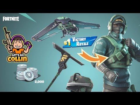 New* Nvidia Geforce Fortnite Skin Bundle Gameplay (Exclusive