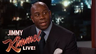 Magic Johnson Once Trash-Talked Michael Jordan - Video Youtube