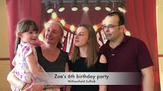 Zoe's birthday party