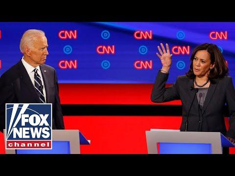 Joe Biden and Kamala Harris go head-to-head on health care during presidential debate