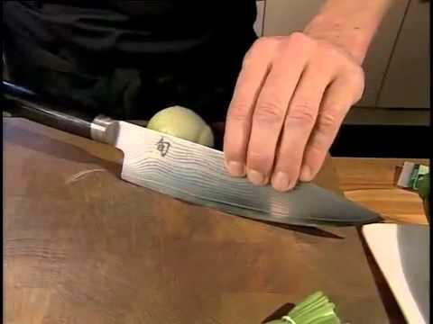 Kai Shun Messer richtig einsetzen - Kochmesser, Santoku und Allzweckmesser