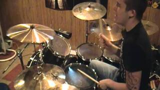 """Theory of a Deadman - """"End of the Summer"""" drum cover"""