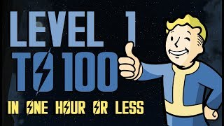 FALLOUT 4 Level 100 UNDER 45 Mins EXTREMELY FAST & EASY |WORKING MARCH. 2019 :D | XBOX ONE, PS4, PC
