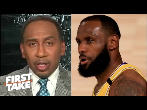 The Lakers clinching the No. 1 seed in the West 'means absolutely nothing' – Stephen A. | First Take