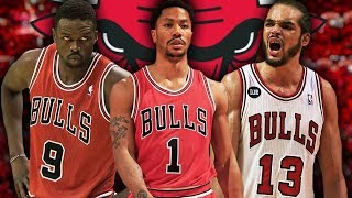 REBUILDING THE 2008 CHICAGO BULLS! ROOKIE DERRICK ROSE! NBA 2K19