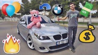 YENİ ARABAM BMW E60 😍 YANLADIM !