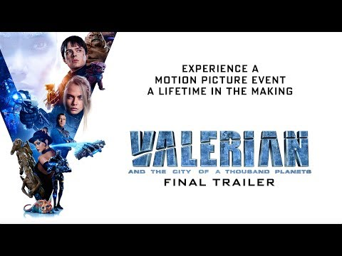 Movie Trailer: Valerian and the City of a Thousand Planets (0)
