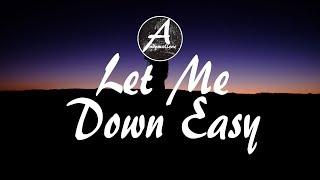 Jane XØ & LöKii - Let Me Down Easy (Lyrics / Lyric Video)