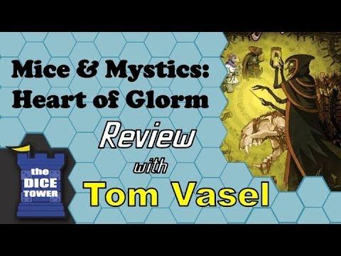 Dice Tower Reviews: Mice & Mystics: Heart of Glorm