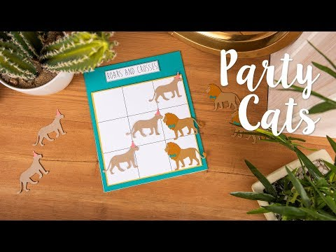 DIY: Party Games - Sizzix