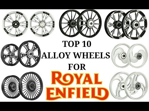 Top 10 Alloy wheels for royal enfield bs4 models | Alloy wheels you can opt for you royal enfield