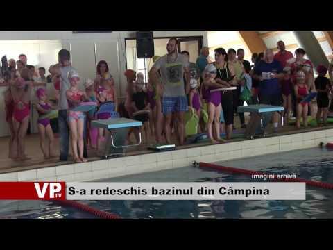 S-a redeschis bazinul din Câmpina