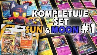 Blister 3pk LITTEN 🐱 SUN & MOON KOMPLETUJE SET #1