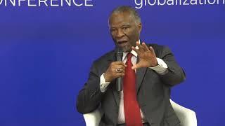 Conversation between Santiago Iñiguez and Thabo Mbeki at IE