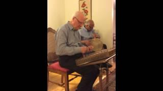 "Persian Music: ""Chahargah"" by Dariush Saghafi & Mahmoud Tehrani- Santur & Tombak Duet"