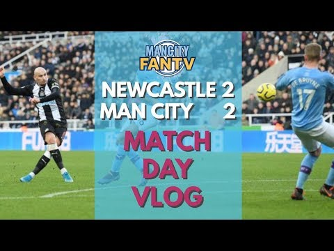 MAN CITY FAN TV: NEW 2-2 MCFC - MATCH DAY VLOG #mcfc #city #mancity #nufc