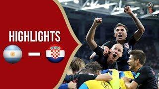 Cuplikan Video Hasil Pertandingan Piala Dunia 2018: Timnas Argentina Vs Timnas Kroasia