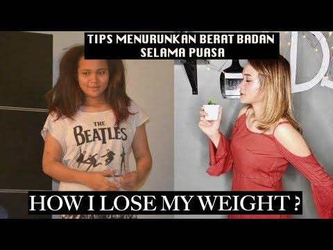 Yaitu sebelum dan setelah latihan untuk menurunkan berat badan menu