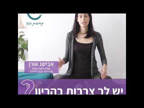 פתרון טבעי לצרבת בהריון -אבישג אורן