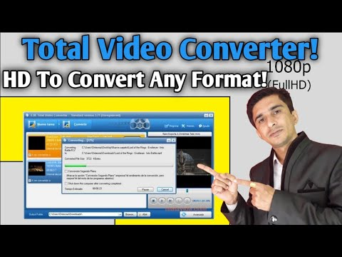 Total Video Converter Free Use | Convert To Any Format Mp4, MKV, AVI, 3Gp (Hindi)