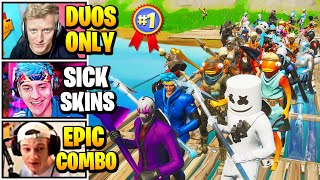 Streamers Host LARGEST Duo FASHION SHOW | Fortnite Daily Funny Moments Ep.529