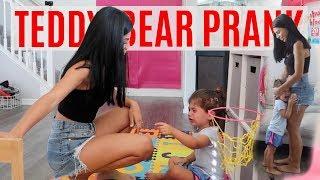 MOVING TEDDY BEAR PRANK!!! *SHE CRIES*