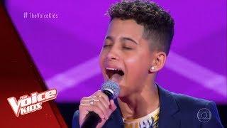 Felipinho canta 'Coração do Maloqueiro' nas Audições às Cegas - The Voice Kids Brasil | 5ª Temporada