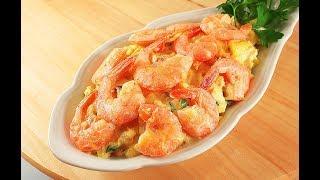 Рыбный Салат с Креветками и Потрясающе Вкусной Заправкой!