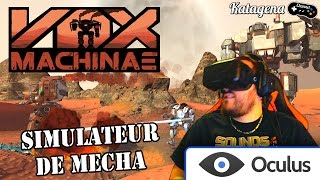 Vox Machinae - Oculus Rift DK2 : Simulateur de Mecha ! [Video Facecam FR / Francais]
