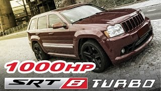 Jeep Cherokee SRT8 Turbo EXTREME (Vmax, highway, sound)