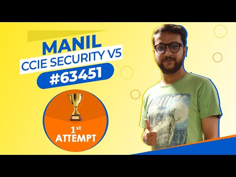 How to clear Cisco CCIE Security Certification Exam in 1st Attempt ...