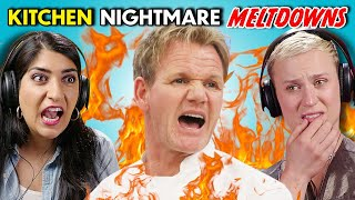 Adults React To Kitchen Nightmares - Best Gordon Ramsay Moments