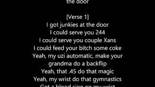 "Lil Pump - ""At The Door"" (Official Lyrics)"