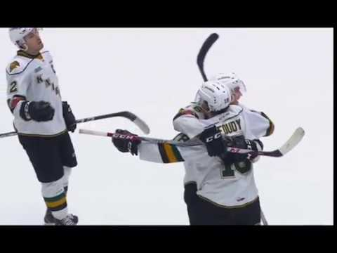 London's Foudy nets two, including OT winner, at Guelph -- 2/11/18