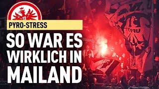 Eintracht Frankfurt In Mailand - So War Es Wirklich!   FUSSBALL 2000 - Der Eintracht-Videopodcast