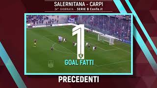 salernitana-carpi-i-precedenti