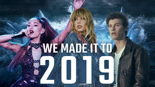 I MADE IT TO 2019 - Year End Megamix [130+ Songs] - MI Mashups