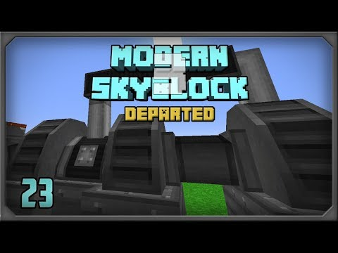 Modern Skyblock 3 EP23 Immersive Tech Steam Turbine