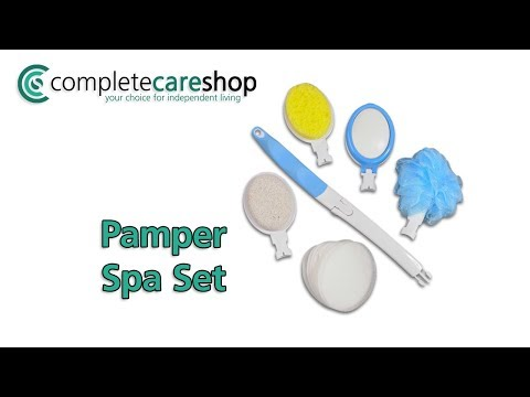 Pamper Spa Set - Contains 15 Pieces