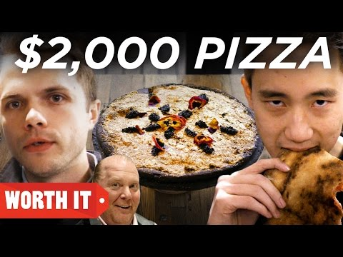 $2 Pizza Vs. $2,000 Pizza • New York City