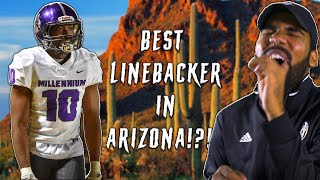 The Best Linebacker In Arizona Hits EVERYTHING IN SIGHT l Sharpe Sports
