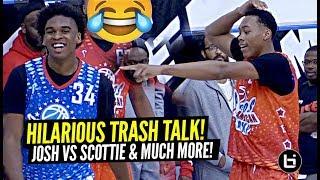 """I DUNKED ON YOU"" Josh Christopher vs Scottie Barnes TALKIN THAT TRASH!!!"
