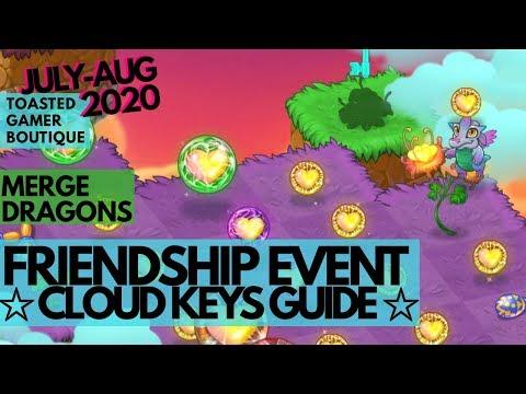 cloud keys guide merge dragons friendship event
