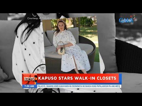 [GMA]  UB: Kapuso stars walk-in closets