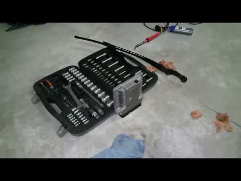 Как снять передний бампер чери амулет видео