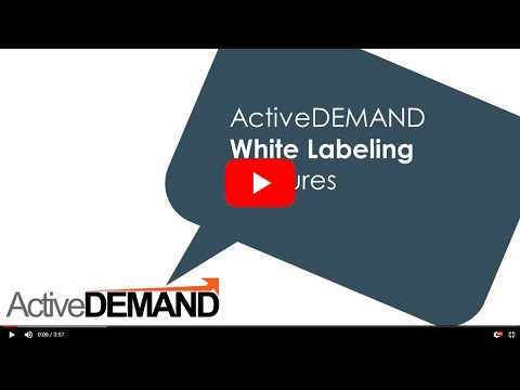 White Label Marketing Automation Software with ActiveDEMAND