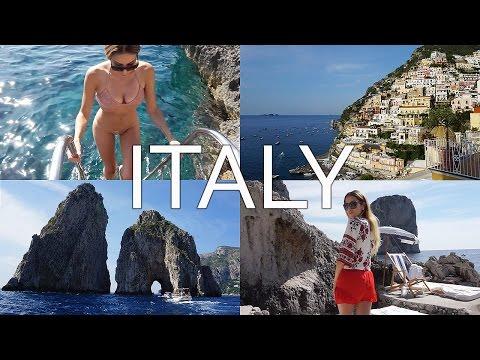 Video Positano, Capri, Amalfi Coast & Ravello | Italy Travel Vlog