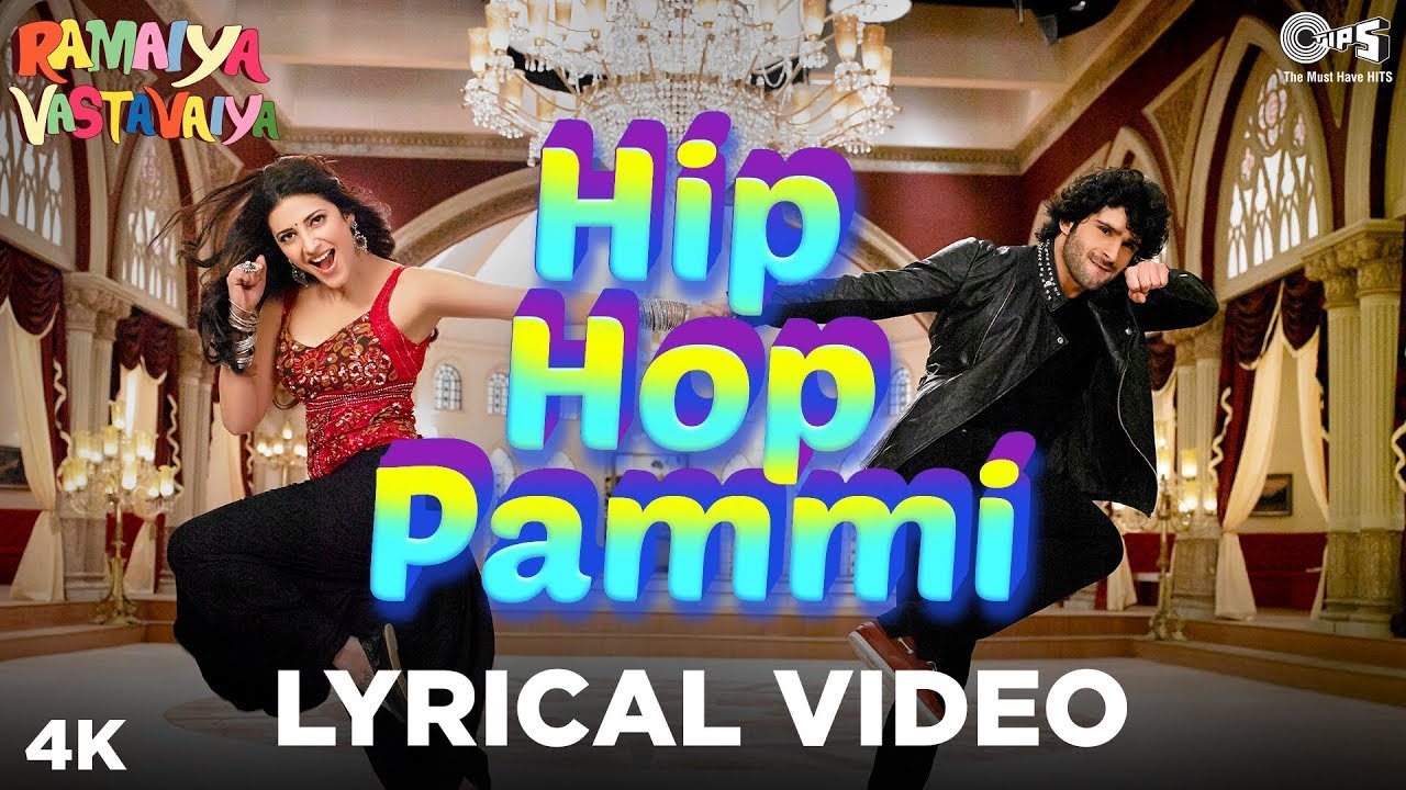 Hip Hop Pammi Lyrical - Ramaiya Vastavaiya   Girish Kumar, Shruti Haasan   Mika Singh, Monali Thakur - Mika Singh & Monali Thakur Lyrics in hindi